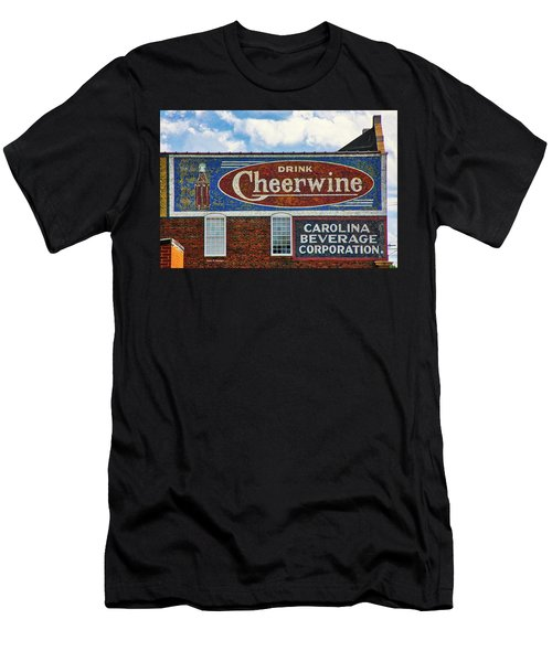 Drink Cheerwine Men's T-Shirt (Athletic Fit)