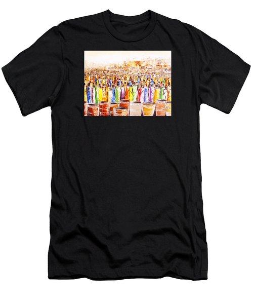 Drink Festival Men's T-Shirt (Athletic Fit)