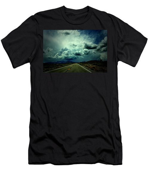 Drive On Men's T-Shirt (Slim Fit) by Mark Ross
