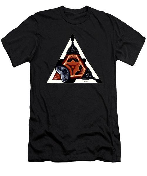 Driverless Car Men's T-Shirt (Slim Fit) by Rafael Salazar
