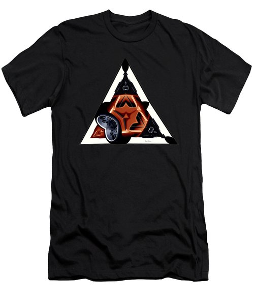 Driverless Car Men's T-Shirt (Athletic Fit)