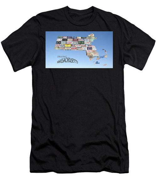 Driving Massachusetts Men's T-Shirt (Athletic Fit)