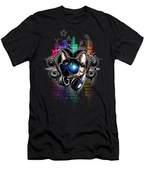Drop The Bass Men's T-Shirt (Athletic Fit)