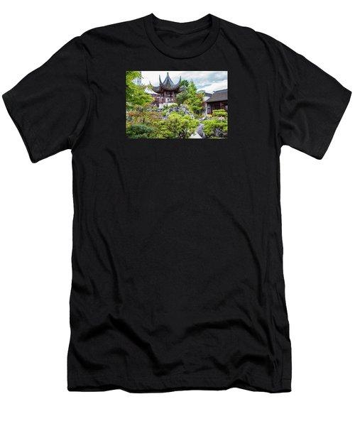 Dr. Sun Yat Sen Classical Chinese Garden, Vancouver Men's T-Shirt (Athletic Fit)