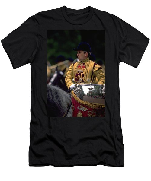 Drum Horse At Trooping The Colour Men's T-Shirt (Athletic Fit)