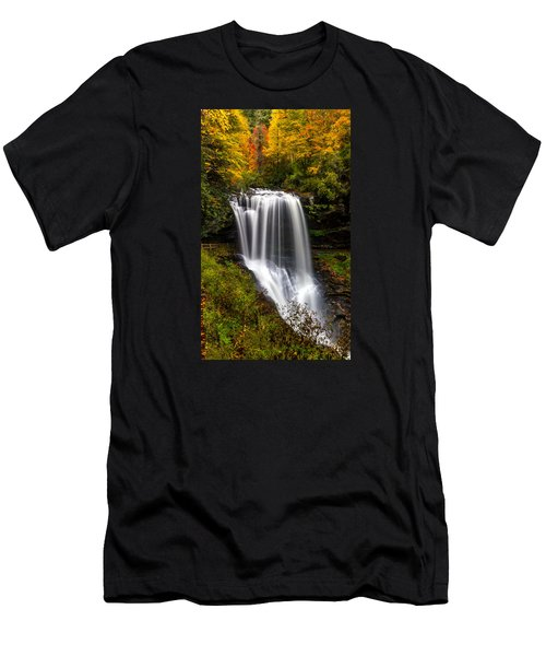 Dry Falls In October  Men's T-Shirt (Athletic Fit)