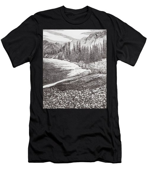 Dry Riverbed Men's T-Shirt (Athletic Fit)