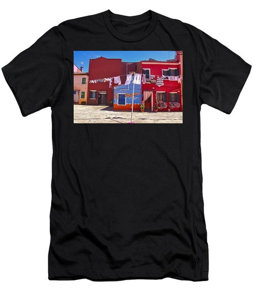 Drying Time Men's T-Shirt (Athletic Fit)