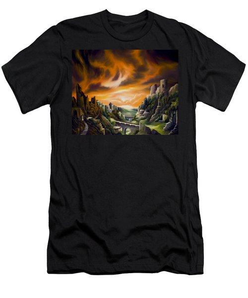 Duallands Men's T-Shirt (Slim Fit)