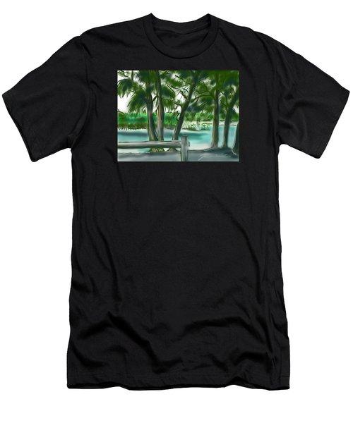 Dubois Park Lagoon Men's T-Shirt (Athletic Fit)