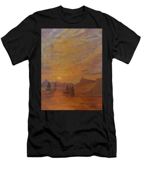Dubrovnik Men's T-Shirt (Athletic Fit)