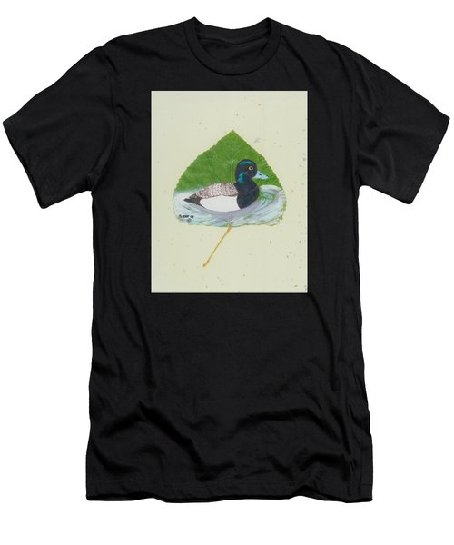 Duck On Pond #2 Men's T-Shirt (Athletic Fit)