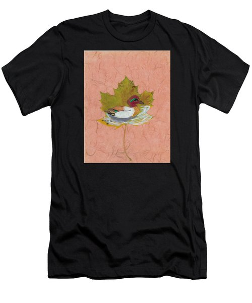 Duck On Pond Men's T-Shirt (Athletic Fit)