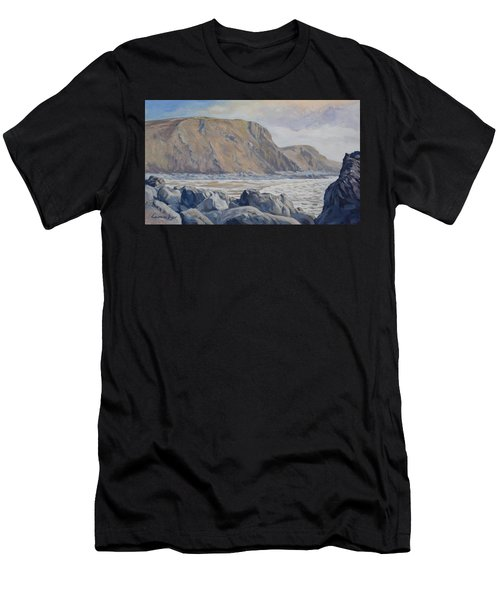 Duckpool Boulders Men's T-Shirt (Athletic Fit)