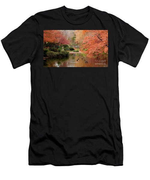 Ducks In The Pond Men's T-Shirt (Athletic Fit)