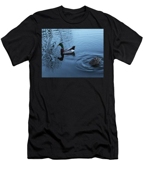 Mallard Duck Men's T-Shirt (Athletic Fit)