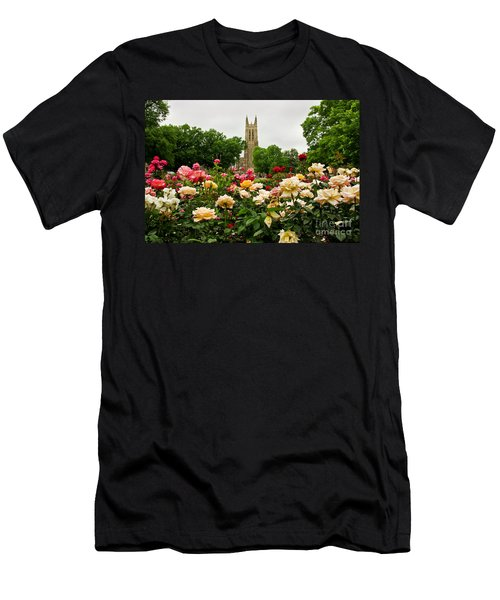 Duke Chapel And Roses Men's T-Shirt (Athletic Fit)