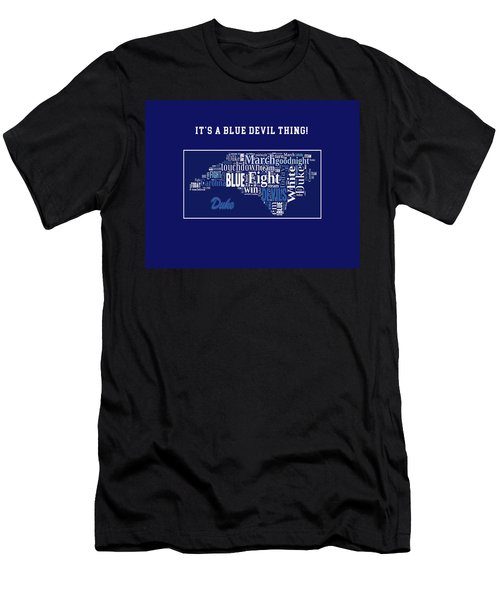 Duke University Fight Song Products Men's T-Shirt (Athletic Fit)