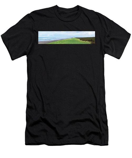 Dune At Fort Stevens Men's T-Shirt (Athletic Fit)