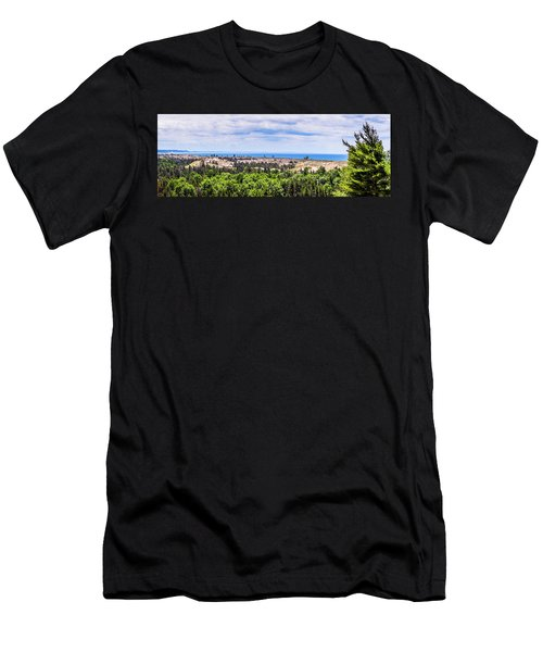Dunes Along Lake Michigan Men's T-Shirt (Athletic Fit)
