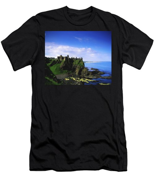 Dunluce Castle, Co Antrim, Irish, 13th Men's T-Shirt (Athletic Fit)