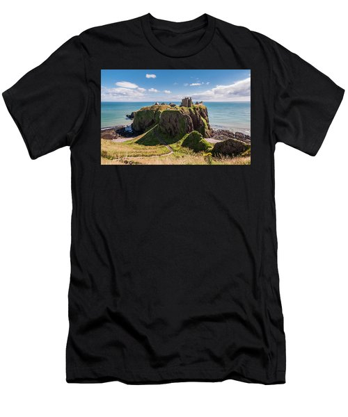 Dunnotar Castle Men's T-Shirt (Slim Fit) by Sergey Simanovsky