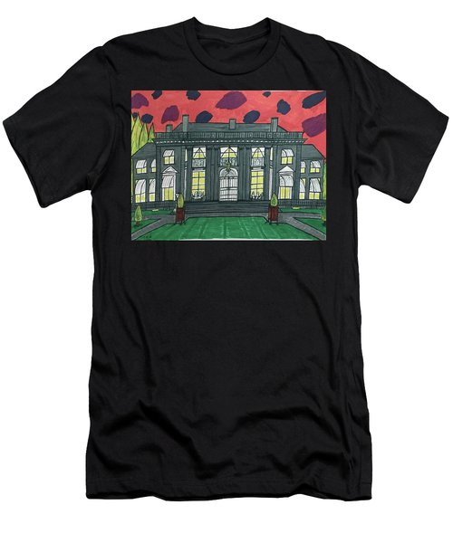 Dupont Family Mansion. Men's T-Shirt (Athletic Fit)