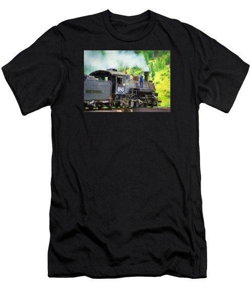 Durango And Silverton 480 Men's T-Shirt (Athletic Fit)