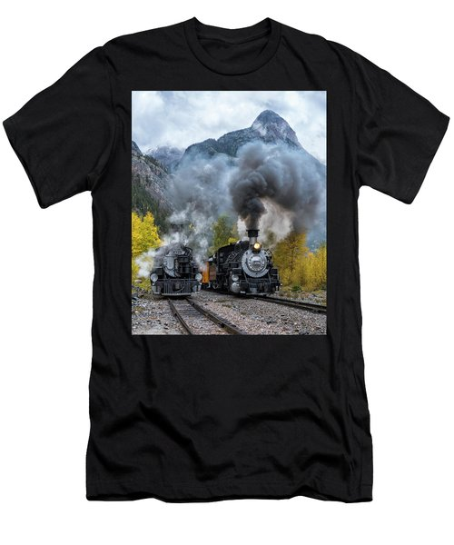 Durango Silverton Train Men's T-Shirt (Athletic Fit)