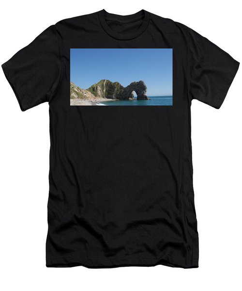 Durdle Door Photo 6 Men's T-Shirt (Athletic Fit)