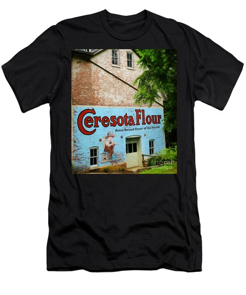 Durham Grist Mill Cerosota Flour Men's T-Shirt (Athletic Fit)