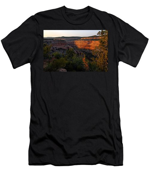 Dusk At Colorado National Monument Men's T-Shirt (Athletic Fit)