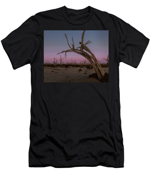 Dusk At Dumbleyung Lake Men's T-Shirt (Athletic Fit)