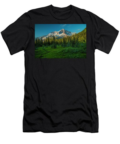 Dusk At Indian Henry Campground Men's T-Shirt (Athletic Fit)