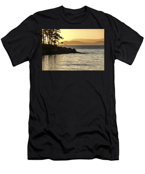 Dusk On Sucia Island Men's T-Shirt (Athletic Fit)