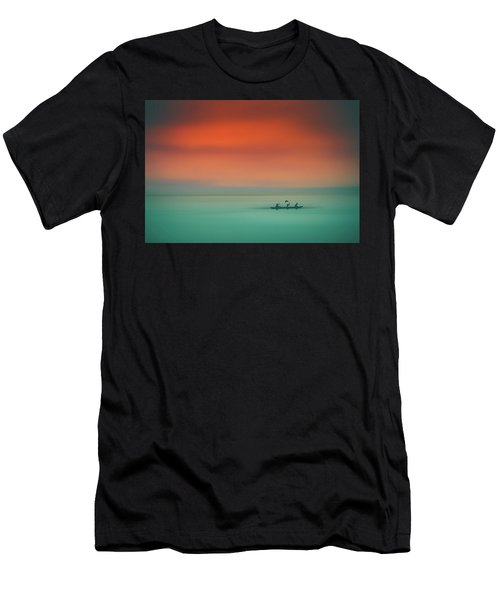 Dusk On The Lake Men's T-Shirt (Athletic Fit)
