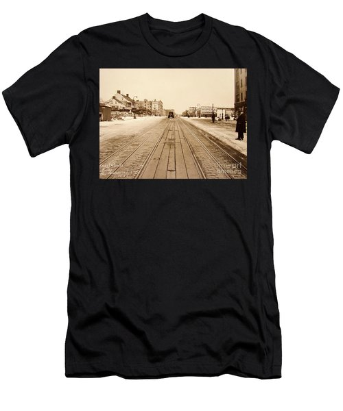 Dyckman House, 1928 Men's T-Shirt (Athletic Fit)