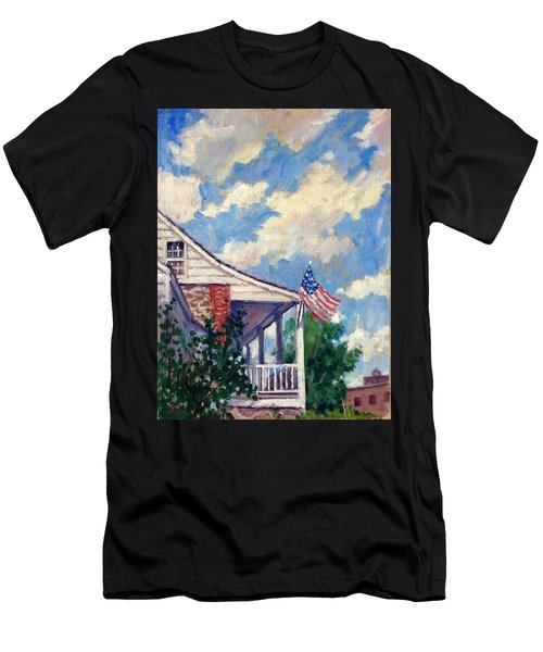 Dyckman House Nyc Men's T-Shirt (Athletic Fit)