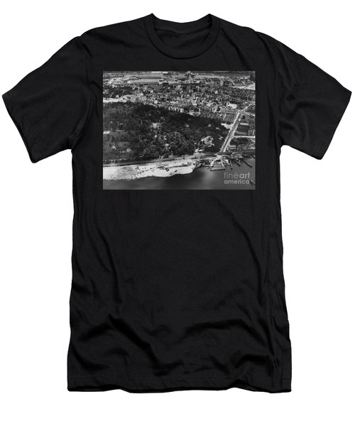 Dyckman Street Ferry, 1935 Men's T-Shirt (Athletic Fit)