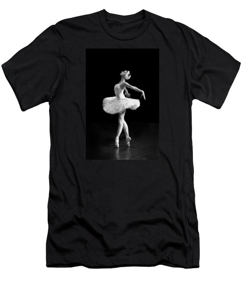 Dying Swan I Alternative Size Men's T-Shirt (Athletic Fit)