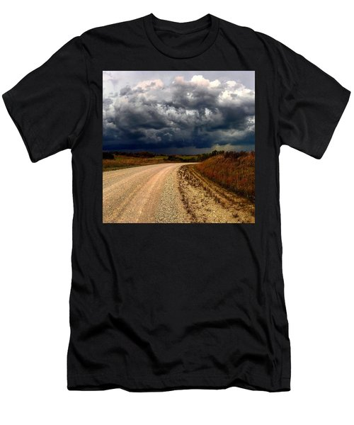 Dying Tornadic Supercell Men's T-Shirt (Athletic Fit)