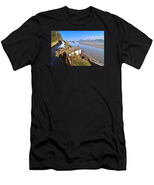 Dylan Thomas Boathouse 2 Men's T-Shirt (Athletic Fit)