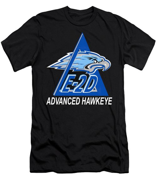 E-2d Advanced Hawkeye Men's T-Shirt (Athletic Fit)