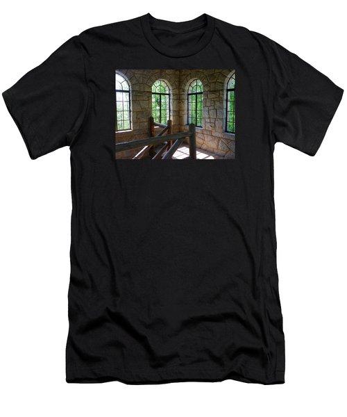 Eagel Rock View Men's T-Shirt (Athletic Fit)