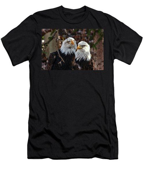 Eagle Buddies Men's T-Shirt (Athletic Fit)