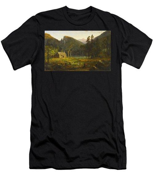 Eagle Cliff, Franconia Notch, New Hampshire Men's T-Shirt (Athletic Fit)