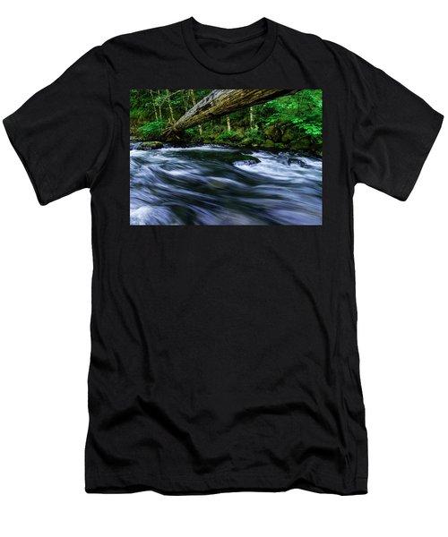 Eagle Creek Rapids Men's T-Shirt (Athletic Fit)
