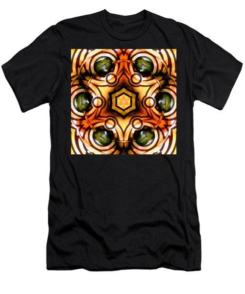 Men's T-Shirt (Athletic Fit) featuring the digital art Eagle Eye Ray by Derek Gedney