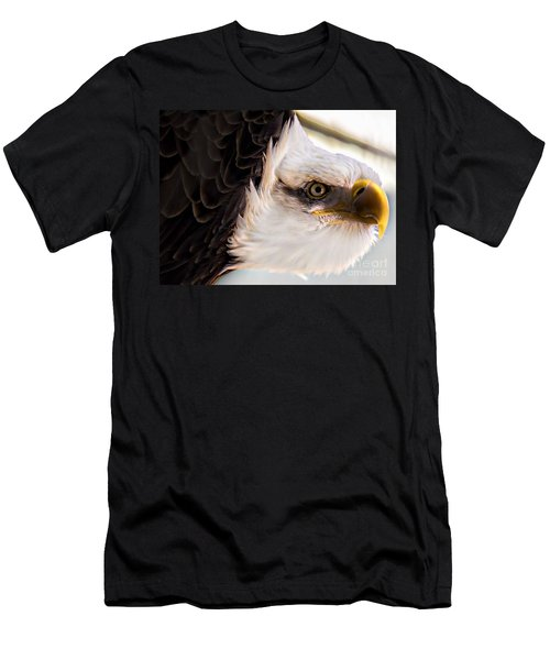 Eagle Eye Men's T-Shirt (Slim Fit) by Sherman Perry