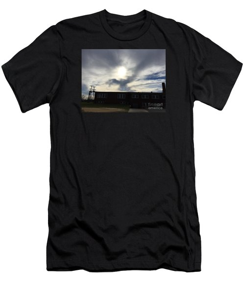 Eagle Cloud In The Carolina Sky Men's T-Shirt (Athletic Fit)